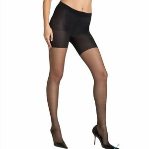 SPANX All The Way Sheers Black Size C New/Flawed